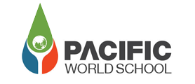 Pacific World School About Logo
